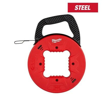 Milwaukee 48-22-4181 25 Steel Fish Tape With Anti-catch Tip