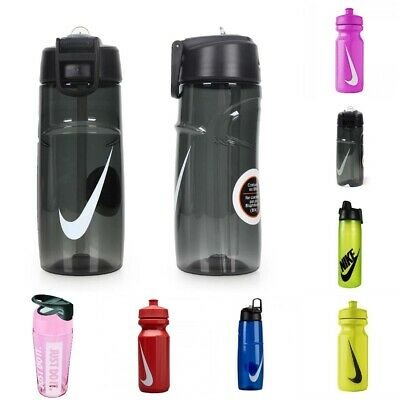 NIKE SPORTS WATER BOTTLE - 22 32 oz DRINKS BOTTLES - MANY COLOURS AND STYLES