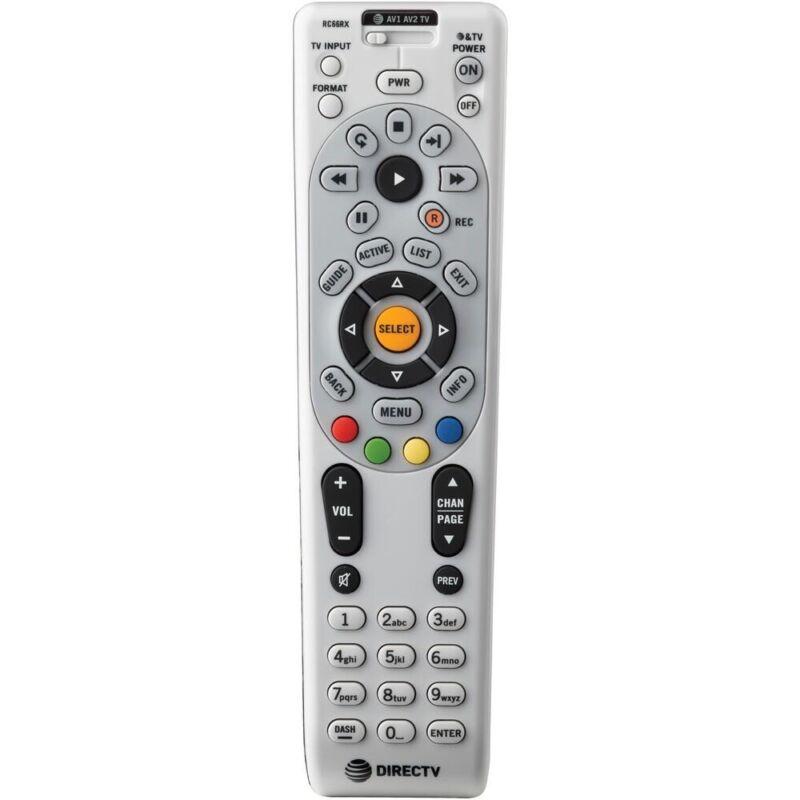 Directv Universal Remote Control Rc66rx