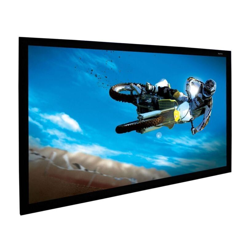 """ProScreens 80"""" (45"""" x 72"""") WHITE movie PROJECTOR projection SCREEN MATERIAL"""