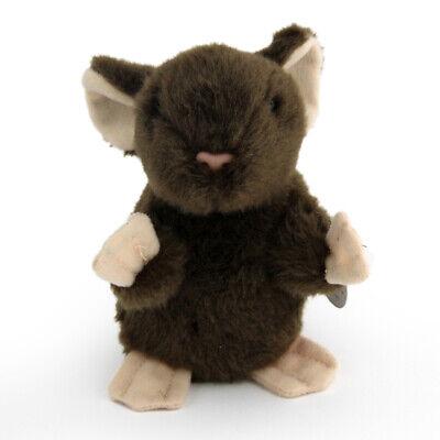 , Kuscheltier, Plüschtier, (Höhe ca. 12 cm) Ratte, Mäuschen (Ratte Stofftier)