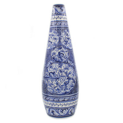 Coimbra Ceramics Hand-painted Large Jar XVII Cent Recreation #286-2