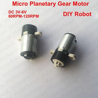 Dc 3v6v 120rpm Micro Planetary Gear Reducer Motor Mini Coreless Motor Diy Robot