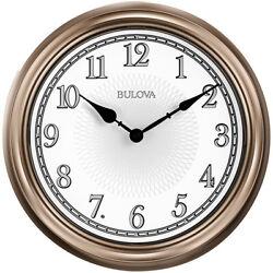 Bulova Clocks C4826 Indoor/Outdoor 14 Inch Diameter Lighted Dial Time Wall Clock