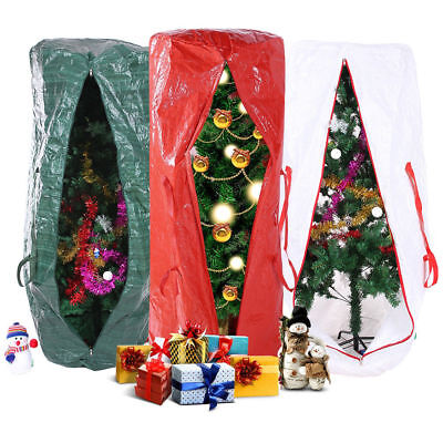 Christmas Tree Storage Bag Upright Deluxe Heavy Duty Holiday Up to 9 Ft. Trees Christmas Tree Storage Bag