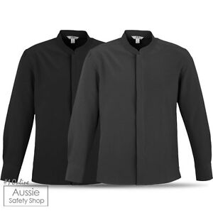 Mens stylish hospitality high end luxury modern chef tunic for High end men s dress shirts