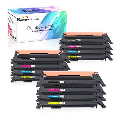 4 12Pk Clt 404S Toner For Samsung Xpress C430 C430w C433w C480fn C480fw C480n Us