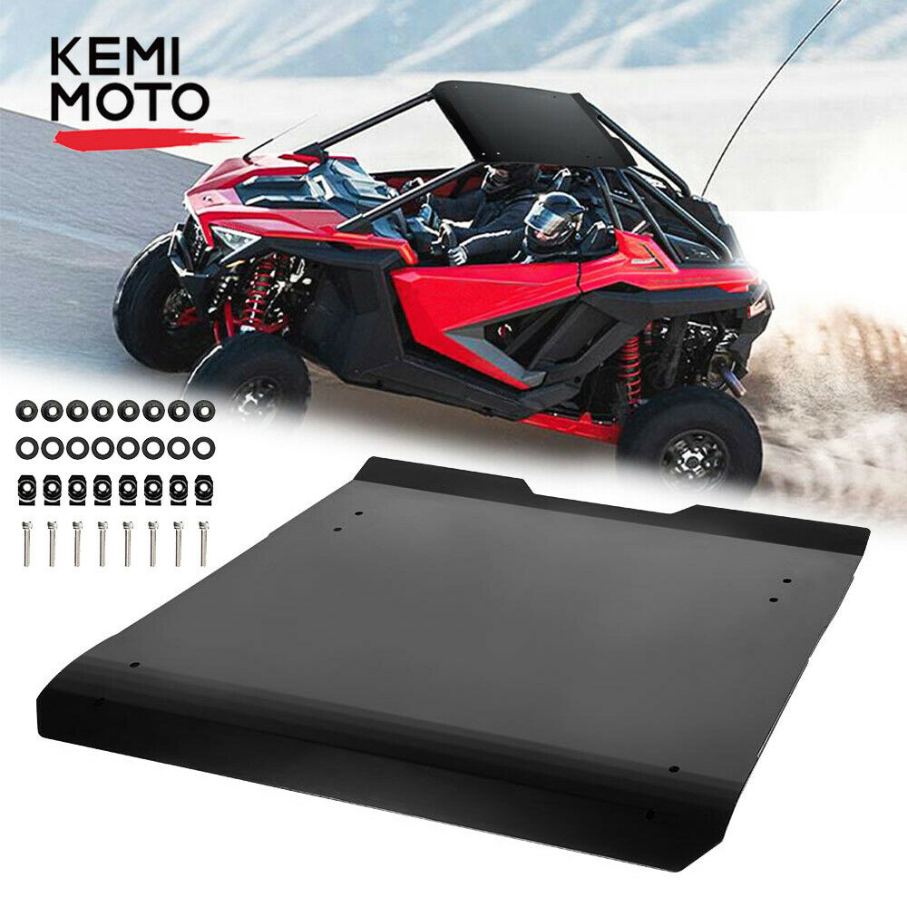 See Video for Instruction RZR PRO XP Hard Top Roof KEMIMOTO Black PP Roof Compatible with Polaris RZR PRO XP 2020+