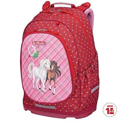 Herlitz Schulrucksack Bliss Horses für Mädchen Schulranzen Grundschule Pferde