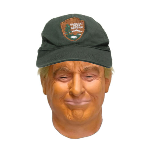 *Official* Vintage National Park Service Snapback Winter Hat Ballcap *NEW*