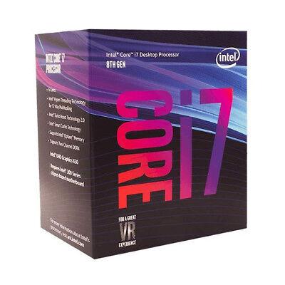 Intel Core i7-8700 Coffee Lake Desktop Process 6-Cores 3.2 GHz (4.6 GHz Turbo)