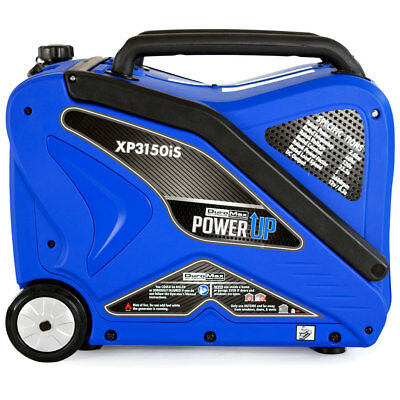 DuroMax XP3150iS 3,150 Watt Gas Powered Digital Inverter Lightweight Generator