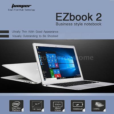 Jumper Ezbook 2 Laptop 14 1  Notebook Pc Win 10 64Gb Quad Core Z8300 Best G9o4