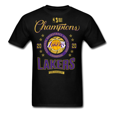 Los Angeles Lakers 2020 NBA Finals Champions T-shirt size S-