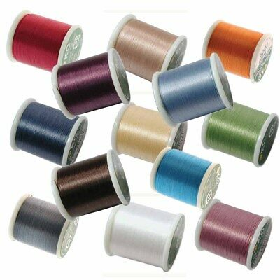 Japanese Nylon Beading Thread By KO Delica Beads 55 Yards spool Pre Conditioned Nylon Bead Thread