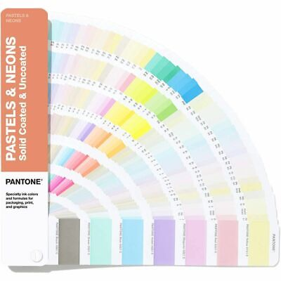 Pantone Pastels Neons Guides Coated Uncoated Gg1504a