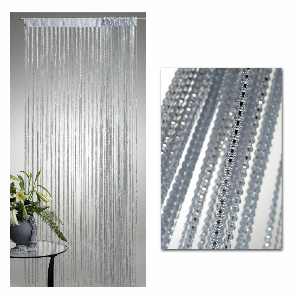 Perlen Fadenvorhang Türvorhang Kristall String Vorhang Gardinen Fenster Deko NEU