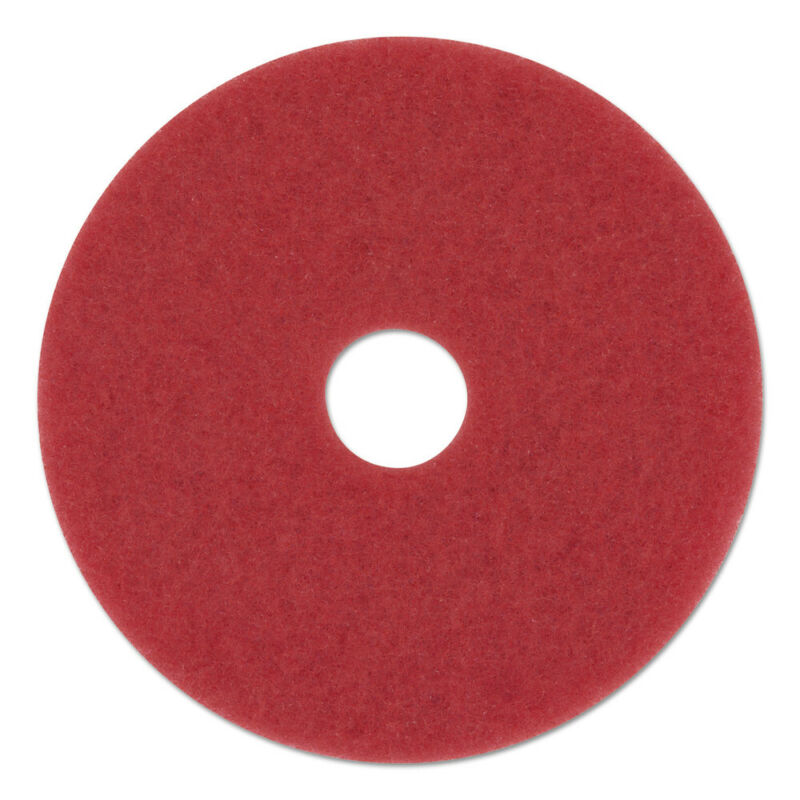 Boardwalk 4013RED 5-Pc. 13 in. dia. Buffing Floor Pads Red New