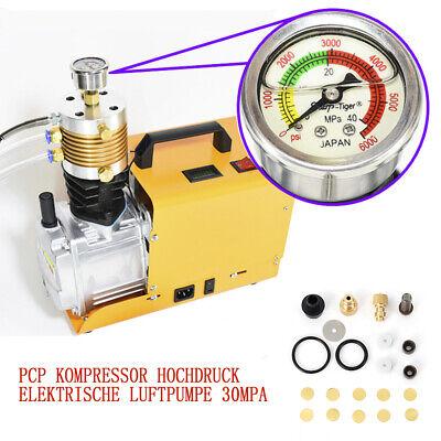 1800W Bomba de aire 4500psi de PCP Bomba eléctrica de alta presión...