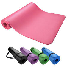 Yoga & Exercise Mat Thick Non-Slip Shock Absorbing Pad Workout 72x24 x 10mm