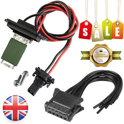 Repair kit FOR Renault Modus Clio Heater Blower Fan Resistor Wiring Loom Harness