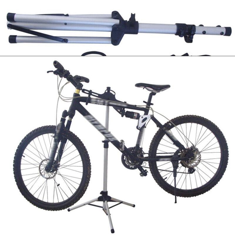 Foldable Bike Bicycle Maintenance Mechanic Repair Tool Rack Work Stand Holder