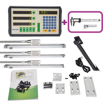 23 Axis Drodigital Readout Magnetic Scale Kit For Millinglathe Machine