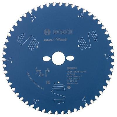 BOSCH Ø 254x30mm Kreissägeblatt für Holz  54 Zähne
