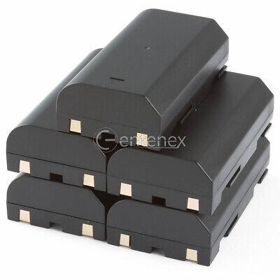 Qty 5 Battery Pack For Pentax Ei-2000 1821 D-li1 Trimble Ei-d-li1 R7 Gps R8