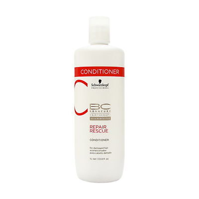 - Schwarzkopf BC Bonacure Repair Rescue Conditioner - 33.8 oz (1 Liter)