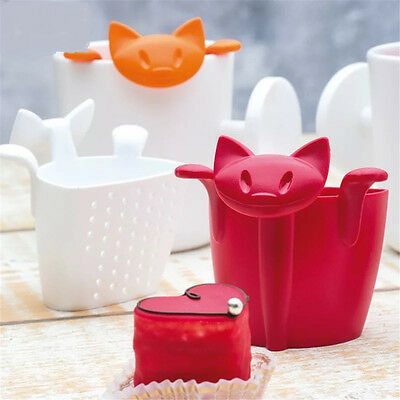 New Silicon Tea Infuser Cute Cat Shape Loose Leaf Mug Strainer Cup Steeper