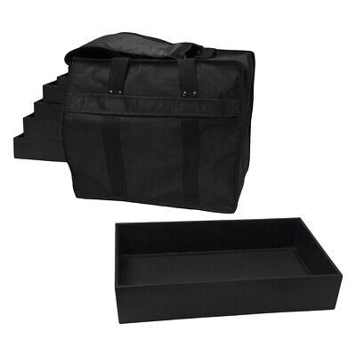 """12 Pc 1"""" Tray in a Jewelry Travel Salesman Sample Display Carrying Case"""