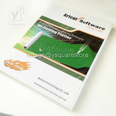 Full Version Artcut 2009 Pro Software Sign Vinyl Plotter Cutting Multi Language