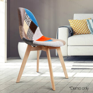 Comfort and Beautiful Eames Inspired Fabric Dining Chair