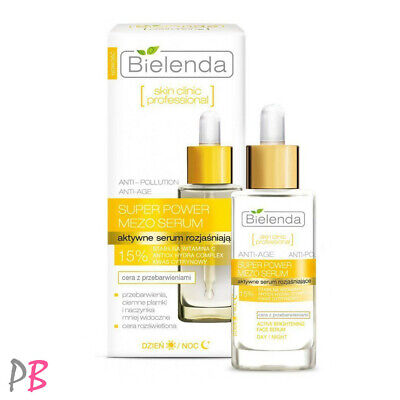 Bielenda Skin Clinic Mezo 15% Vitamin C Serum Face Brightening Discoloration