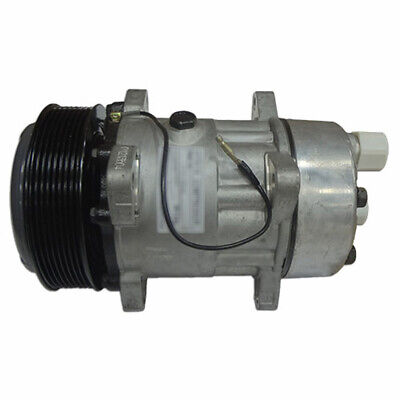9824775 Tractor Ac Compressor Serpentine Pulley W Clutch Fits Ford New Holland