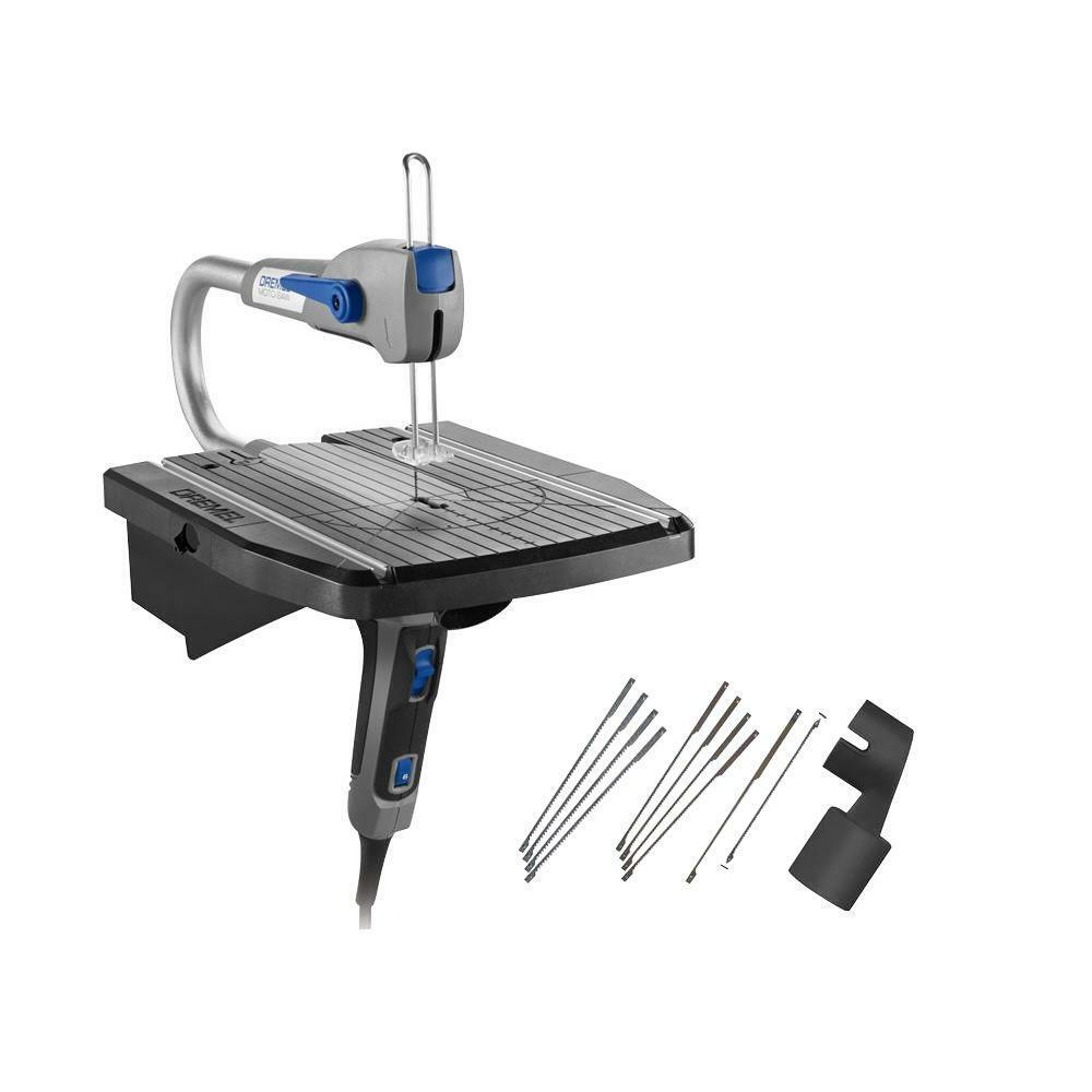 Moto Saw 0.6 Amp Corded Scroll Saw For Plastic Laminates And