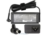 GENUINE SONY VAIO 19.5V 3.9A 65W LAPTOP ADAPTER CHARGER