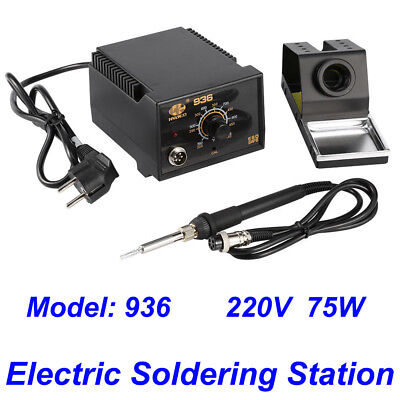 110v 936 Power Electric Ac 24v Soldering Station Smd Rework Welding Iron Us Ship