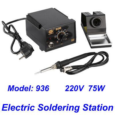 110v 936 Power Electric Ac 24v Soldering Station Smd Rework Welding Iron Us Ship