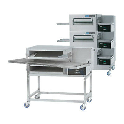 Lincoln 1180-fb3e Electric Express Triple Stack Conveyor Oven W Fastbake
