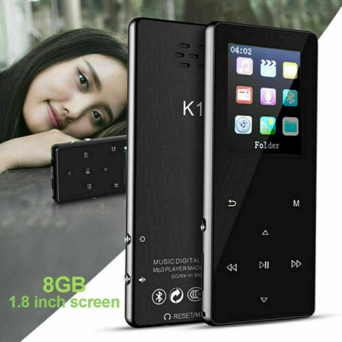 Portable Bluetooth MP3 Music Player with FM Hi-Fi Lossless Support up to 128GB Consumer Electronics