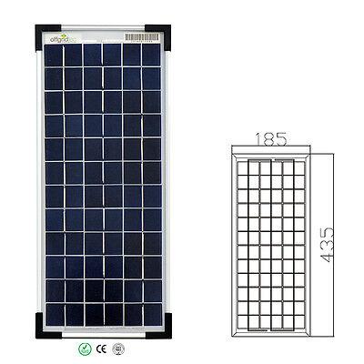 Offgridtec® 10 Watt Poly 12V Solarpanel Solarzelle Solarmodul