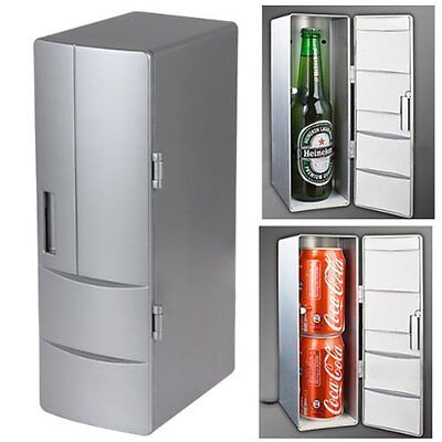 Mini USB Powered Fridge Cooler & Warmer for Beverage Drinks Beer-  Free shipping