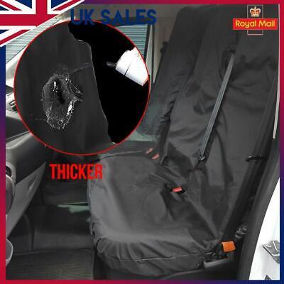 SEAT COVERS FORD TRANSIT 06-13 MK7 PANEL VAN HEAVY DUTY WATERPROOF VAN BLACK 2+1