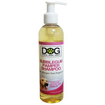 250ml Distinctive Original Grooming Dog Bubblegum Pamper Shampoo