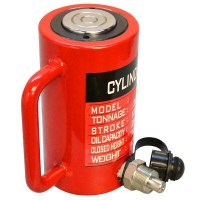 30 Ton Hydraulic Lifting Cylinder 3.93 100mm Stroke Jack Ram Pressure Pump