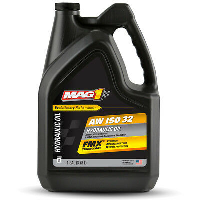 Aw 32 Hydraulic Oil Fluid Iso Vg 32 Sae 10w - 1 Gallon Mag 1 Premium Anti-wear