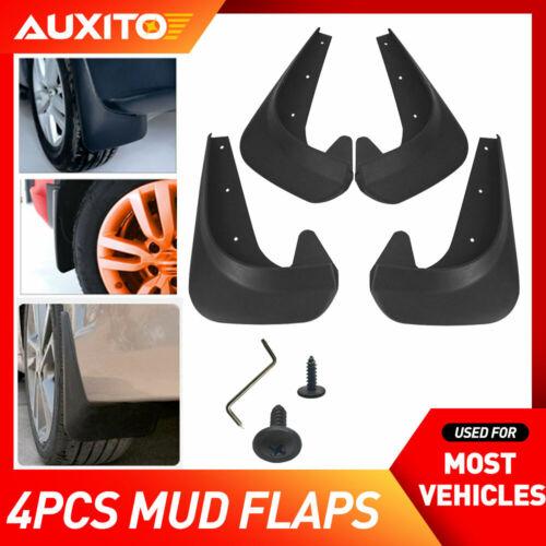 Car Parts - 4X Universal Black Car Mud Flaps Splash Guards For Car Auto Accessories Parts