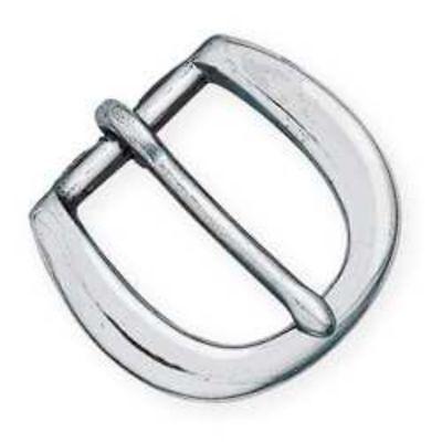 - Heel-Bar Buckle 3/4 inch (1.9 cm) Nickel Plated (1632-02) [WBL]